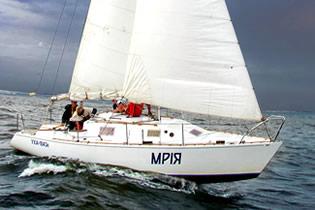 самодельная яхта Мрия 9 метров