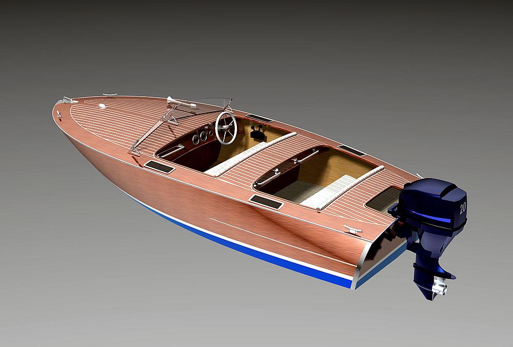 Моторные лодки сделать своими руками