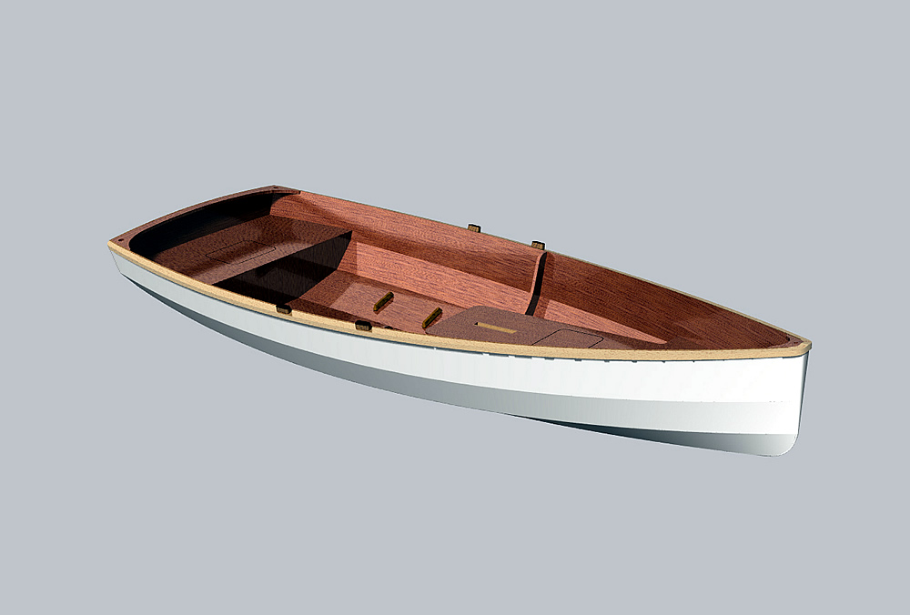 Фанерная лодка дори