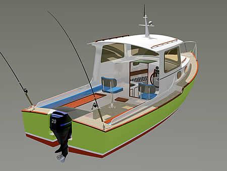 проект катера 0 метров