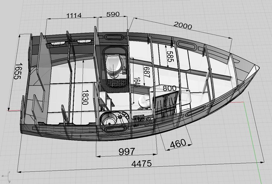 Трейлерные яхты компромисс своими руками построить 36