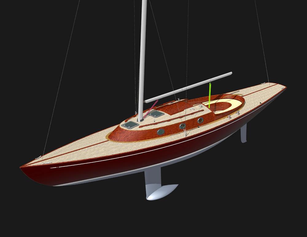 3D модели яхты (Картинки можно