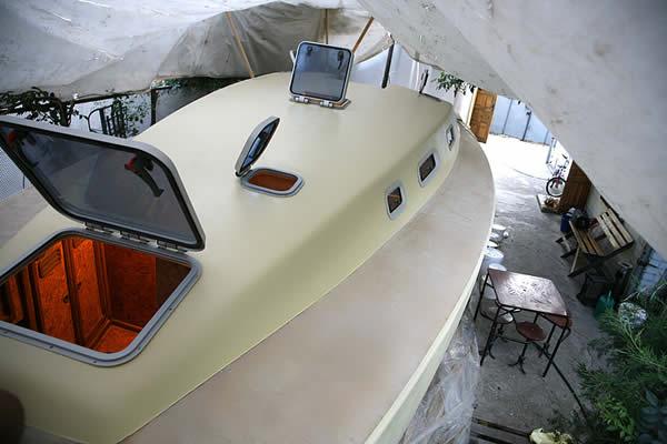 Постройка яхты 10 метров своими руками. Самодельная яхта