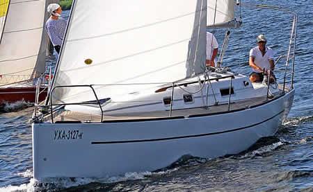 самодельная яхта 10 метров